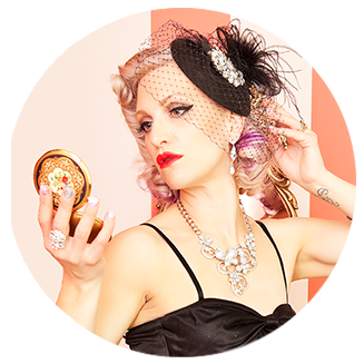 VintageSparkle - Vintage make-up compacts, jewellery, rings, handbags, necklaces, scarves, brooches. Classic style.