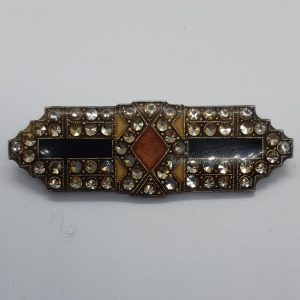 Pierre Bex art deco brooch