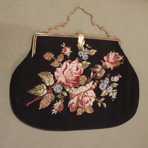edwardian petit point bag